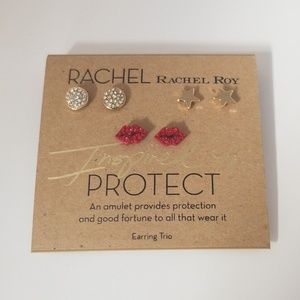 Rachel Roy Earring Set